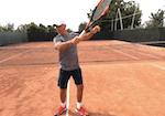 tennis tip - shoulder to shoulder